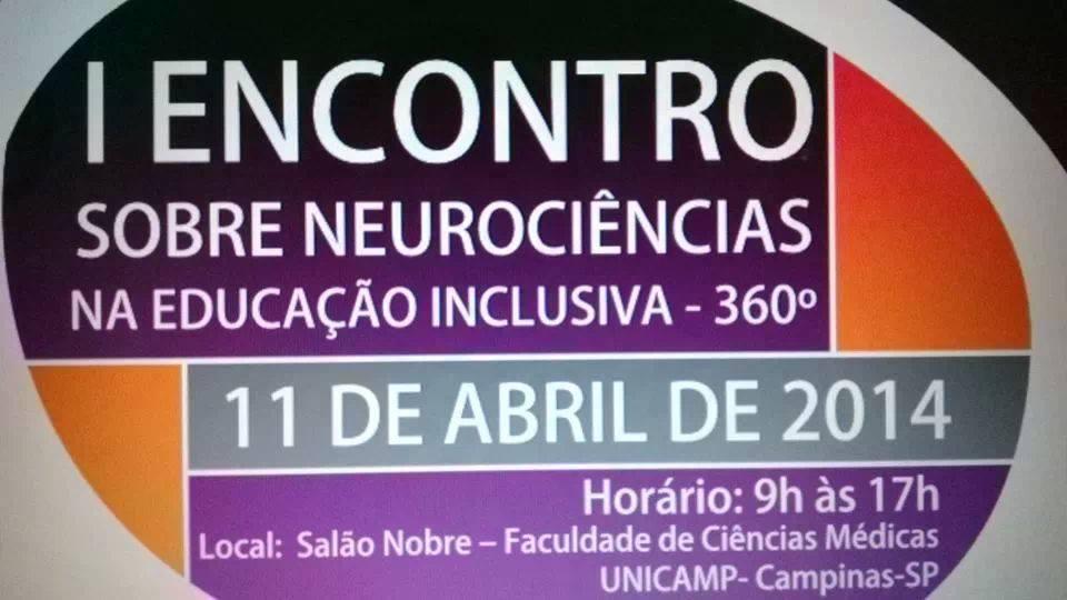I Encontro sobre neurociências na educação inclusiva - 360º
