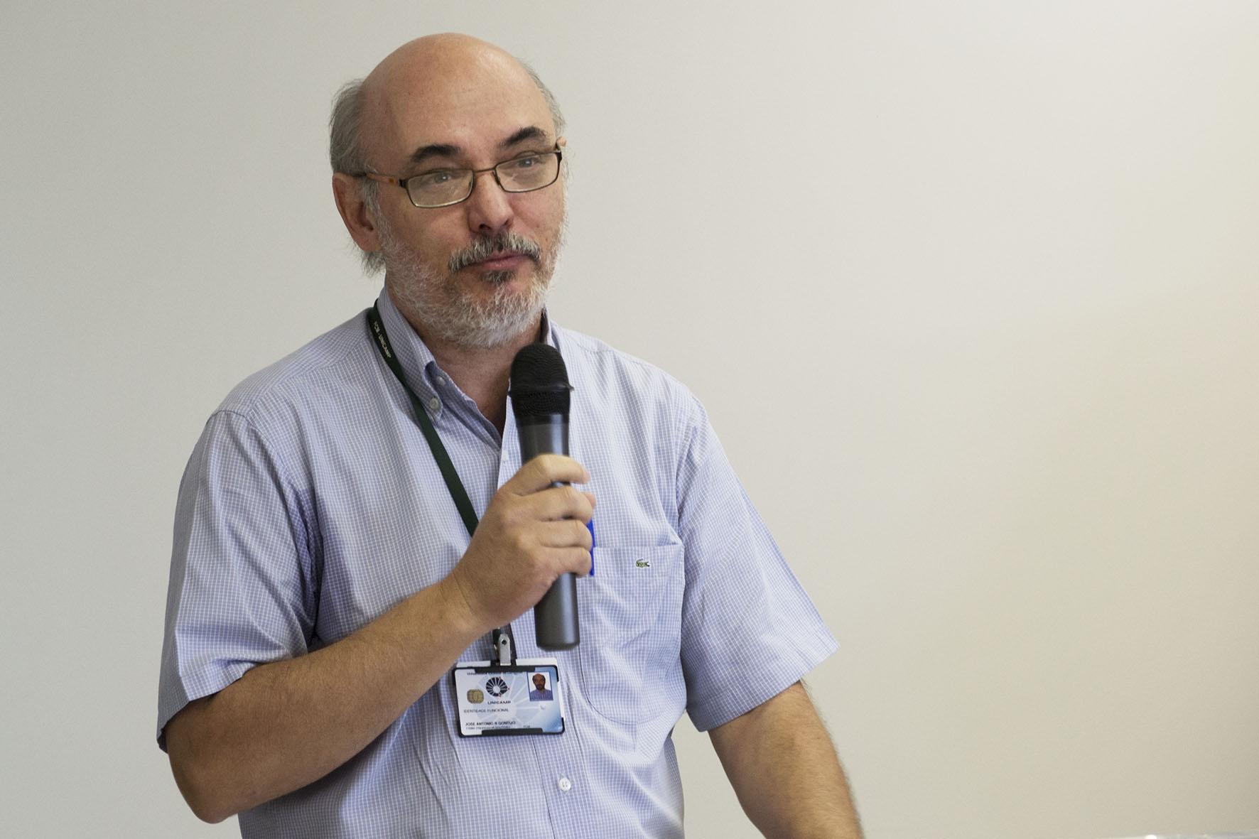 José Antonio Rocha Gontijo, diretor da FCM de 2006 a 2010. Foto: Marcelo Oliveira. CADCC-FCM/Unicamp