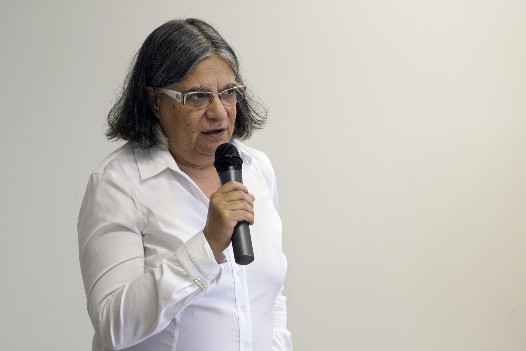 Teresa Atvars, pró-reitora de Desenvolvimento Universitário da Unicamp. Foto: Marcelo Oliveira. CADCC-FCM/Unicamp