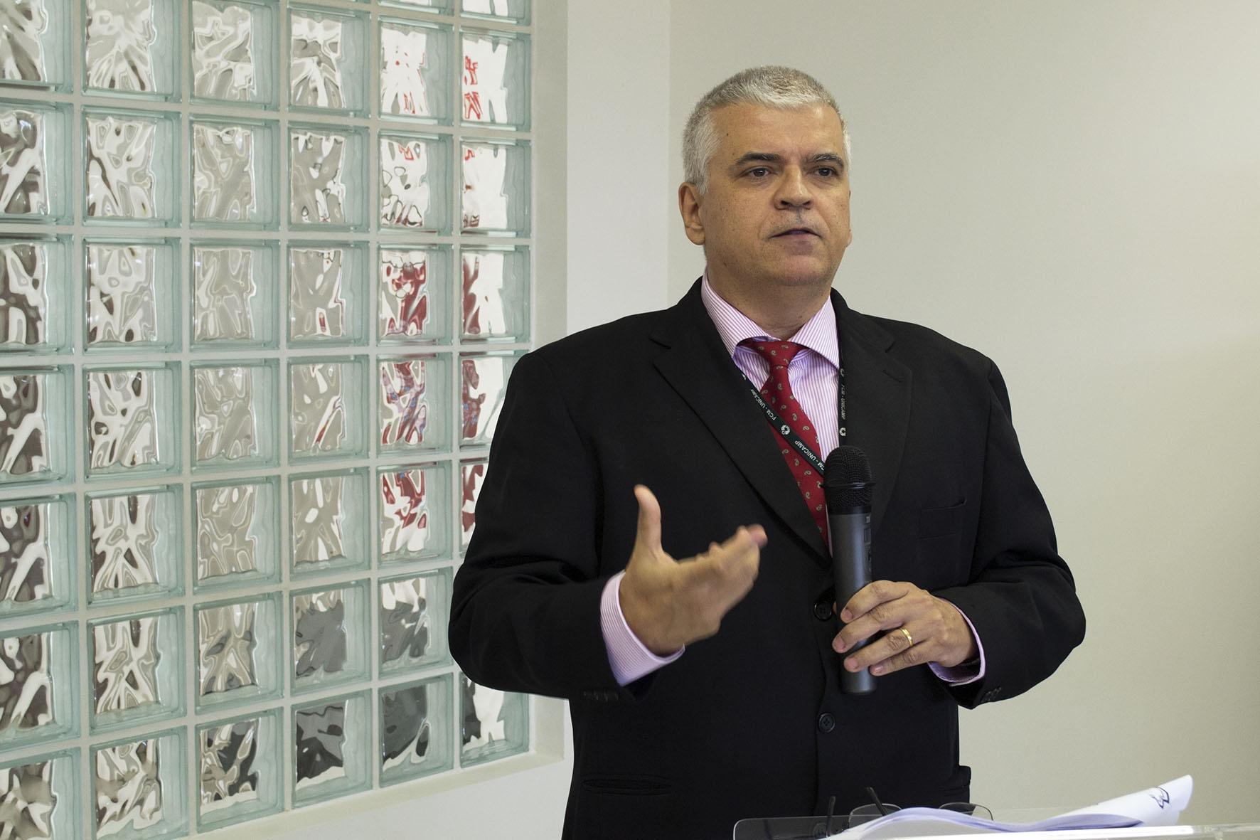 Heitor Moreno, coordenador do CPC de 2010 a 2012. Foto: Marcelo Oliveira. CADCC-FCM/Unicamp