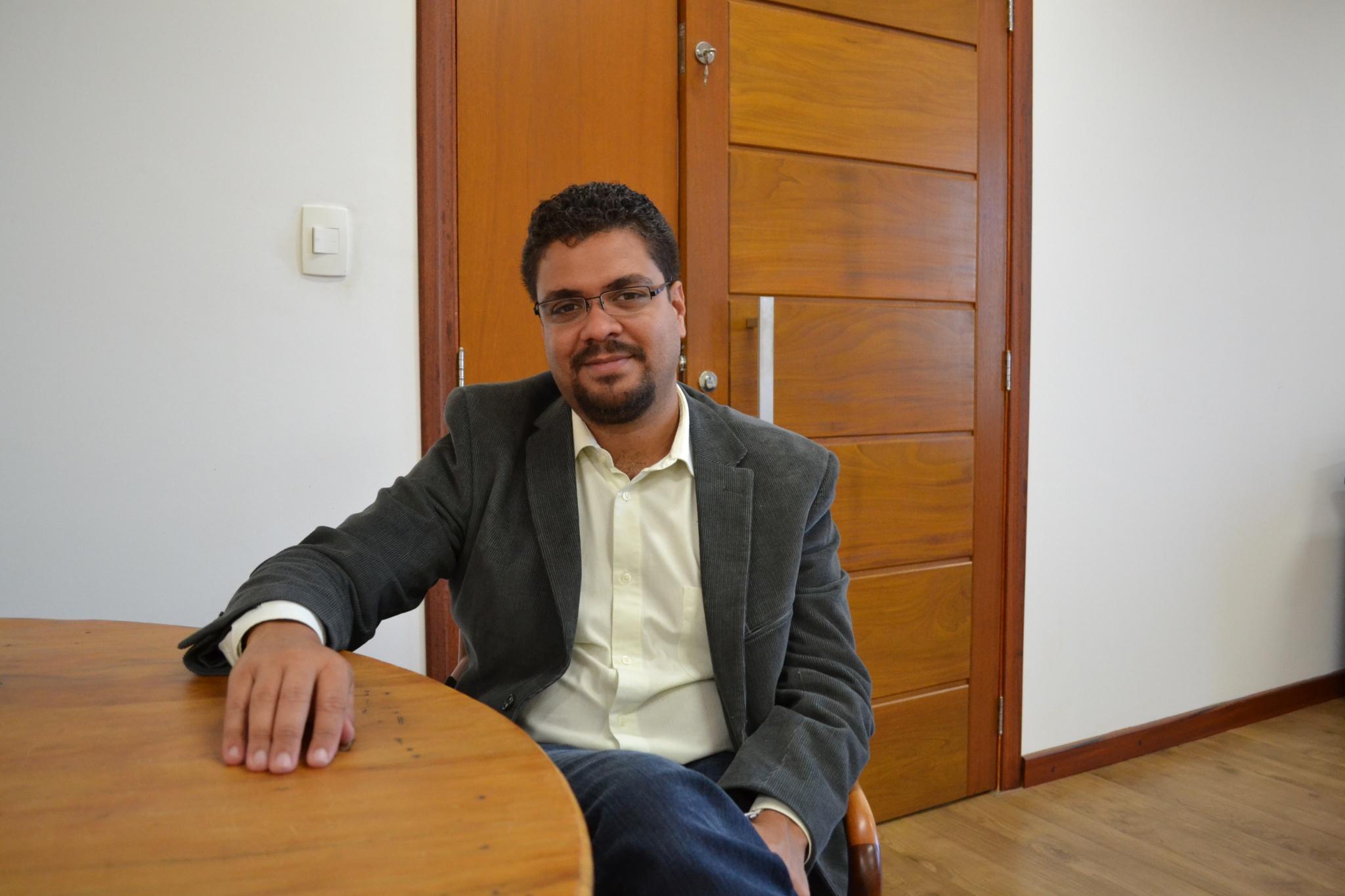 Hêider Pinto, representante do Ministério da Saúde. Foto: Camila Delondes. ARPI-FCM/Unicamp