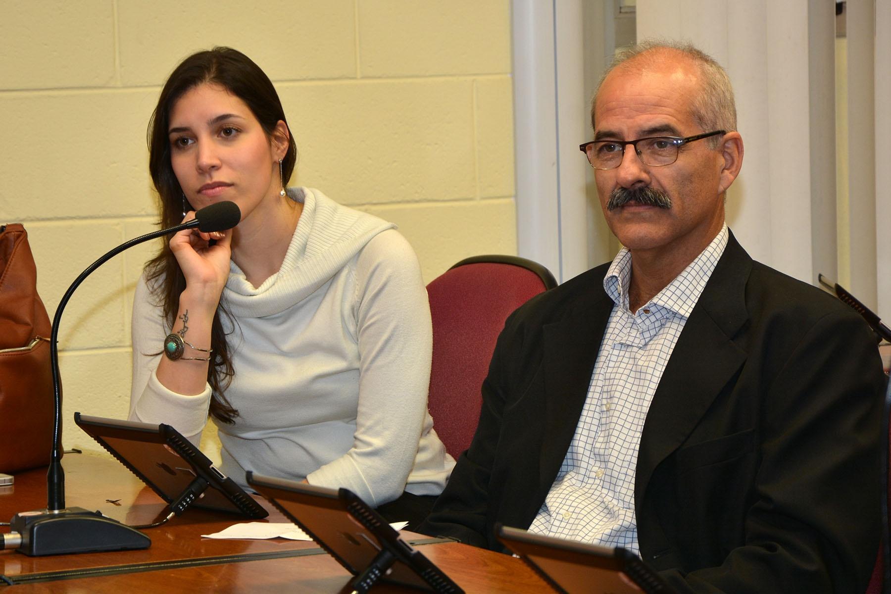 Natália Tobar e Francisco Tobar. Foto: Mario Moreira. CADCC-FCM/Unicamp