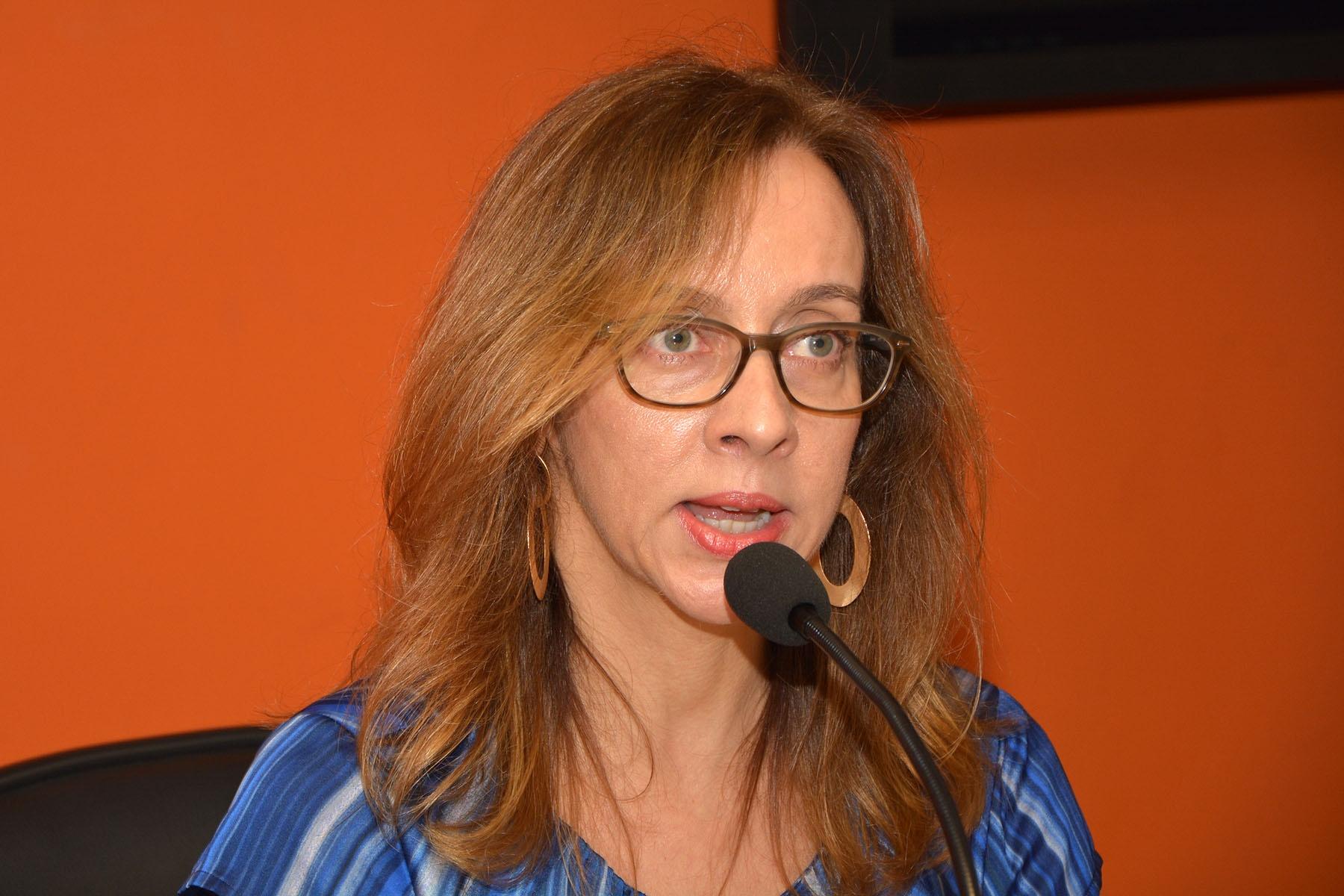 Christiane Marques do Couto, coordenadora de graduação do curso de Fonoaudiologia. Foto: Mario Moreira. CADCC-FCM/Unicamp