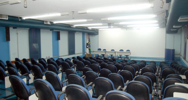 Salão Nobre da FCM com capacidade para 160 lugares